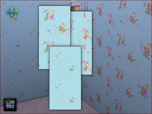 4 wall sets for girls at Arte Della Vita image 6424 Sims 4 Updates