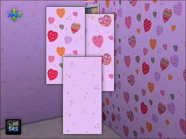 4 wall sets for girls at Arte Della Vita image 6523 Sims 4 Updates