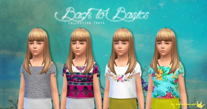 Back to Basics clothes for Kids at In a bad Romance image 6617 Sims 4 Updates