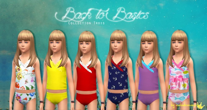 Back to Basics clothes for Kids at In a bad Romance image 6717 Sims 4 Updates