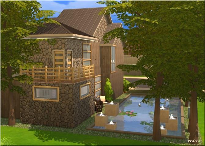 Sims 4 Natural House by Moni at ARDA