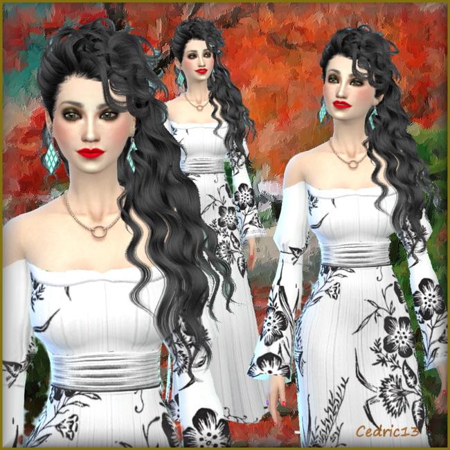 Sims 4 Li Chang by Cedric13 at L'univers de Nicole