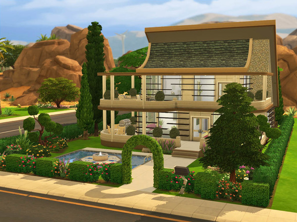 Anna house by Guardgian at TSR image 7104 Sims 4 Updates