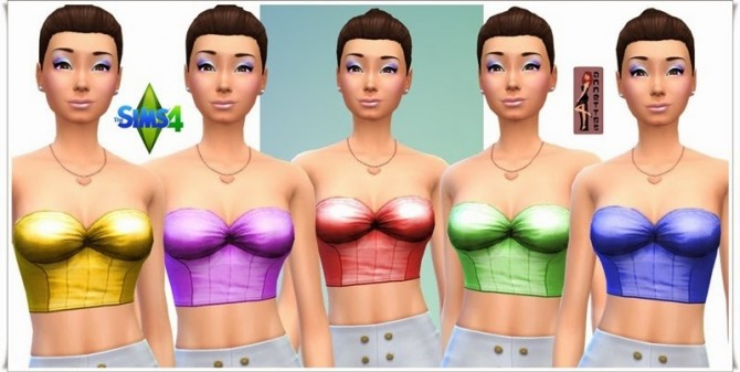 Corsage Coquette & Overknees at Annett's Sims 4 Welt image 71111 Sims 4 Updates