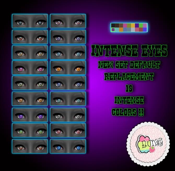 Sims 4 Intense eyes at Eluney Design