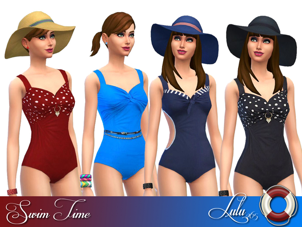 Sims 4 Swim Time by Lulu265 at TSR