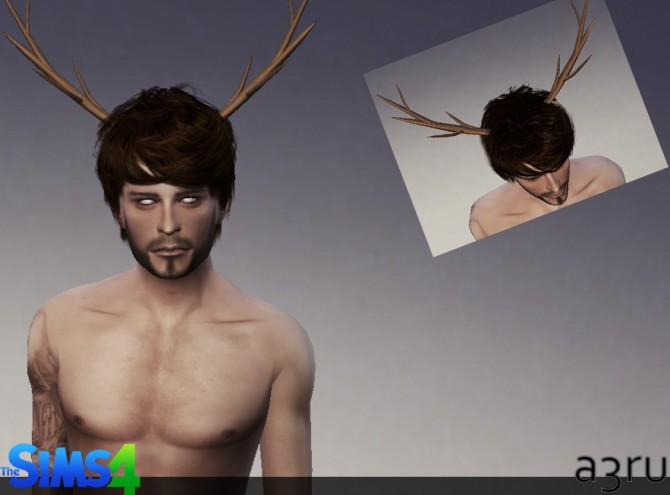 Festive antlers at A3RU image 71211 Sims 4 Updates