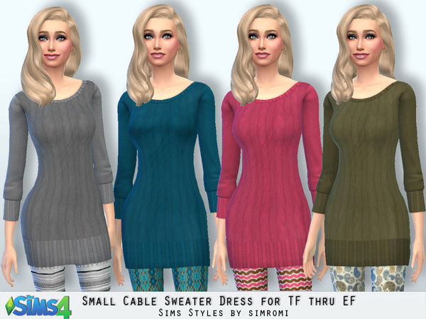 Sweater and Leggings by Simromi at TSR image 7151 Sims 4 Updates