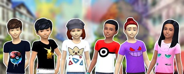 Sims 4 Shirts for kids at Splay