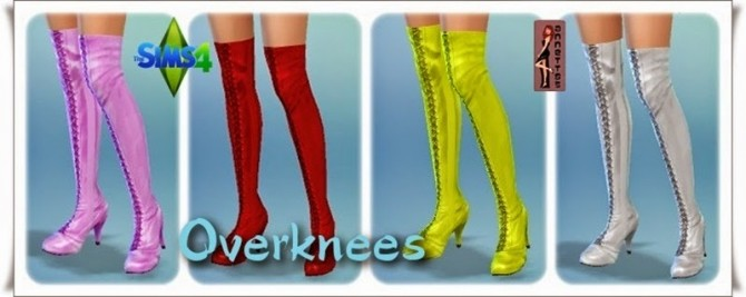 Corsage Coquette & Overknees at Annett's Sims 4 Welt image 729 Sims 4 Updates