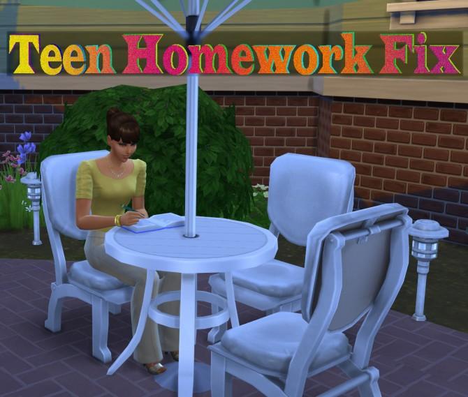 How do i get my sims 3 to do their homework | nozna.net