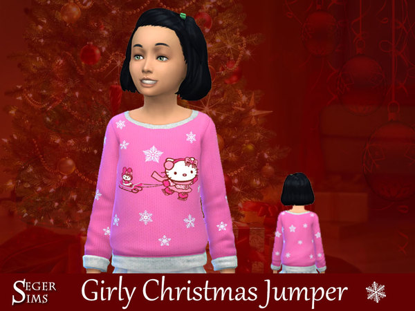 Christmas Jumpers by SegerSims at TSR image 750 Sims 4 Updates