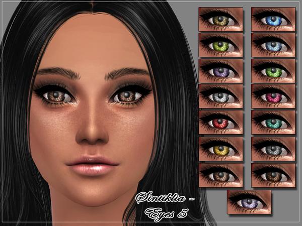Sims 4 Eyes 5 by Sintiklia at TSR