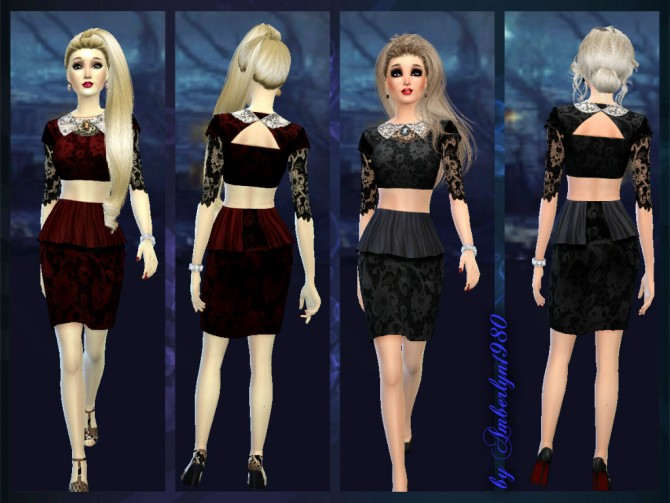Clothes at Amberlyn Designs image 7618 Sims 4 Updates