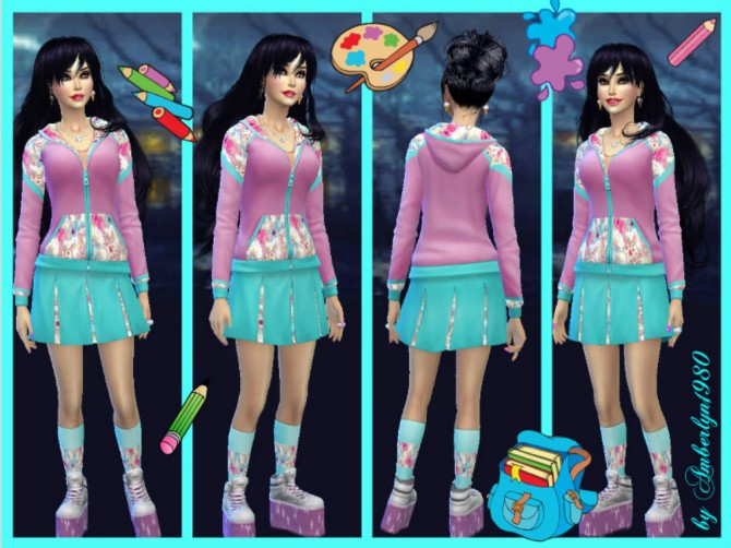 Clothes at Amberlyn Designs image 7717 Sims 4 Updates