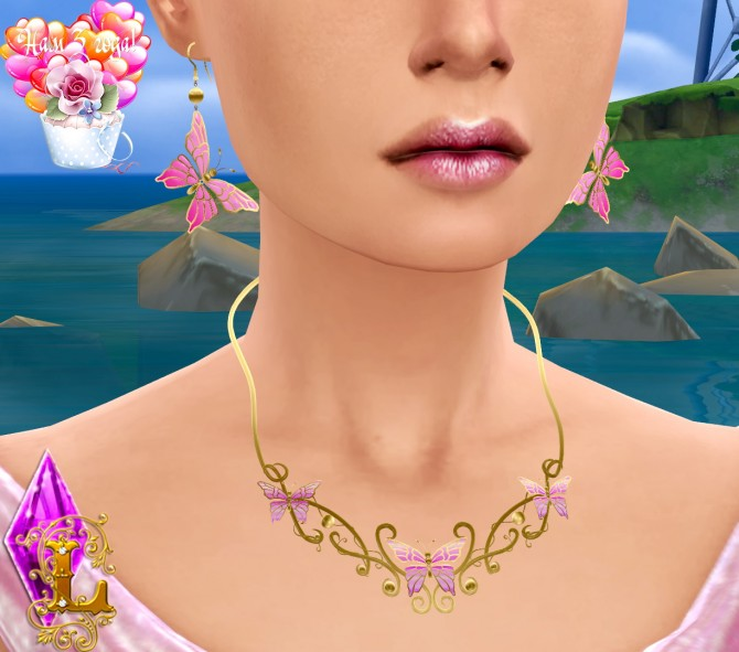 Fantasy Series Butterfly Set at Ladesire image 779 Sims 4 Updates