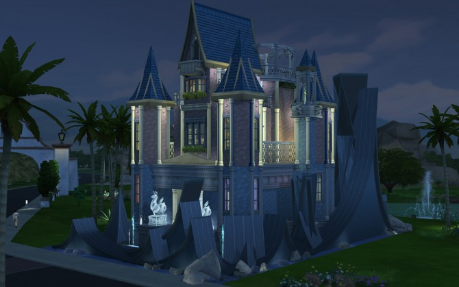 Mermaid Palace By Artrui At Mod The Sims 187 Sims 4 Updates