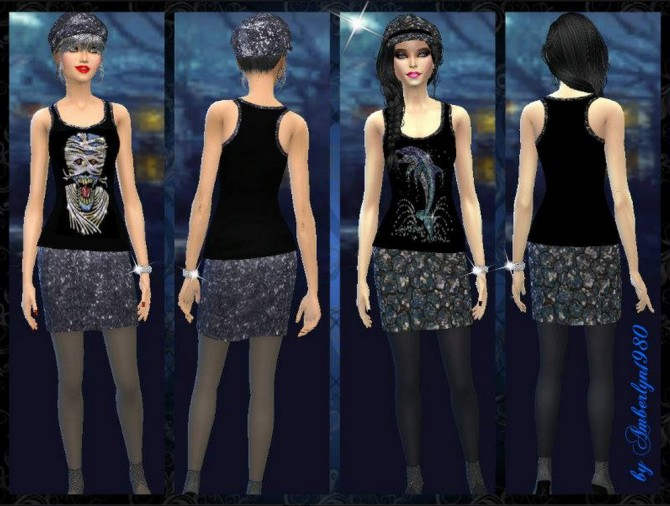 Clothes at Amberlyn Designs image 7920 Sims 4 Updates