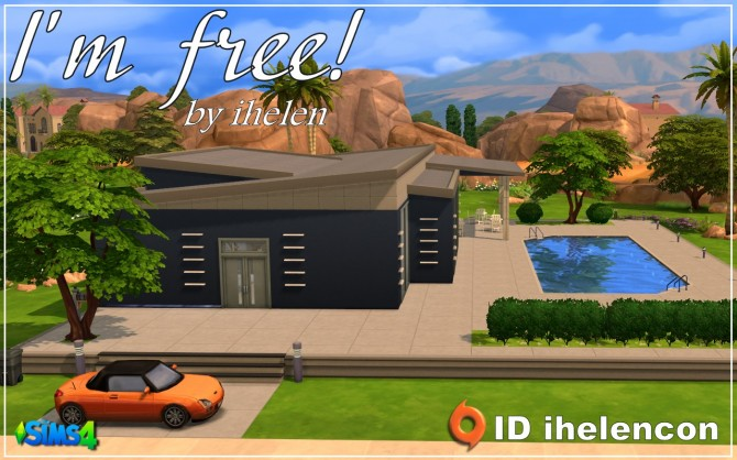 Sims 4 Im free! cottage by ihelen at ihelensims