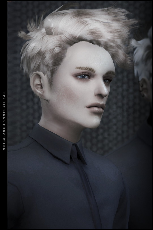 FlyBangs hair 3T4 conversion at Black le image 802 Sims 4 Updates