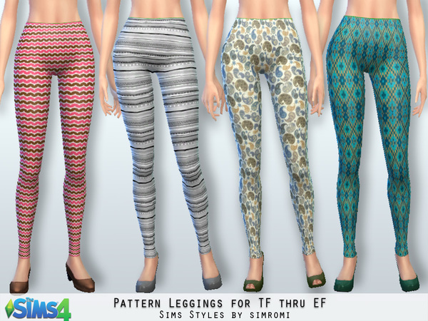 Sweater and Leggings by Simromi at TSR image 8151 Sims 4 Updates
