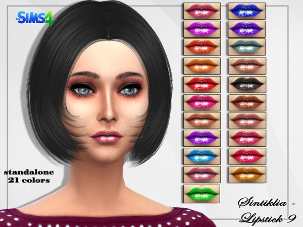 Lipstick 9 by Sintiklia at TSR image 8171 Sims 4 Updates