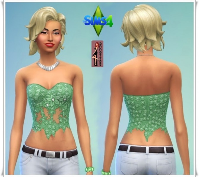 Rainbow corset top at Annett's Sims 4 Welt image 822 Sims 4 Updates