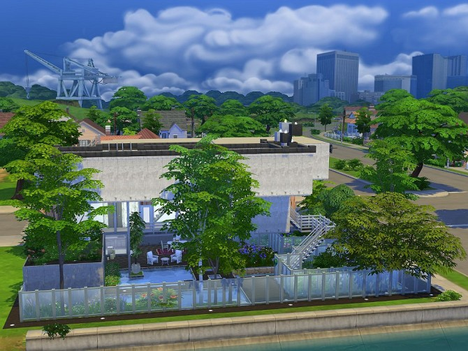 Sims 4 Suburban House Vinea by Vrain at Mod The Sims