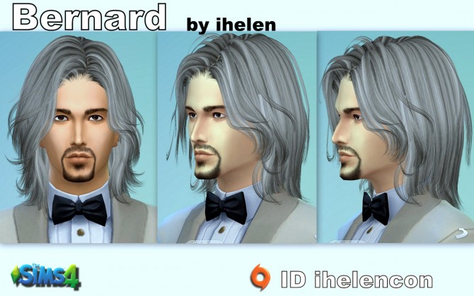 Bernard by ihelen at ihelensims image 83 Sims 4 Updates