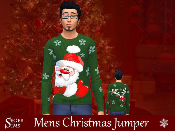Christmas Jumpers by SegerSims at TSR image 840 Sims 4 Updates