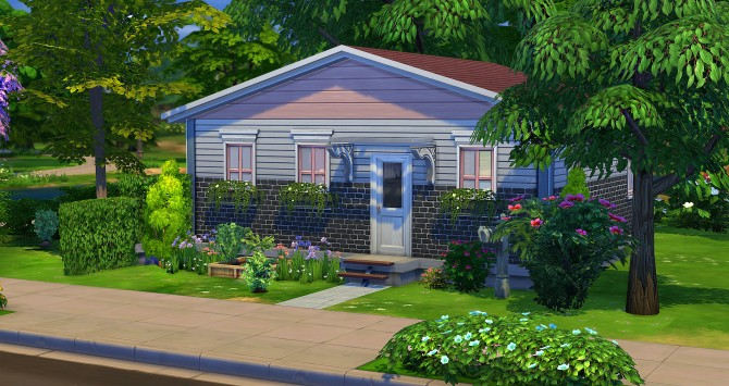 Sims 4 Rose Starter at Studio Sims Creation
