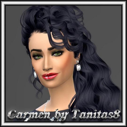 Sims 4 CARMEN by Tanitas8 at Ladesire