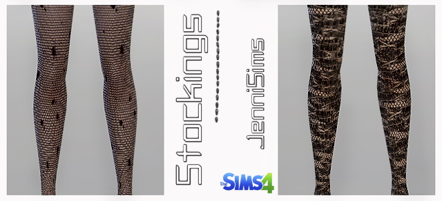 Sims 4 Stockings Vol3 at Jenni Sims