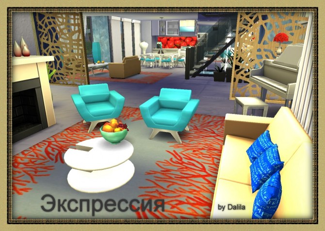 Expression house at Architectural tricks from Dalila image 887 Sims 4 Updates