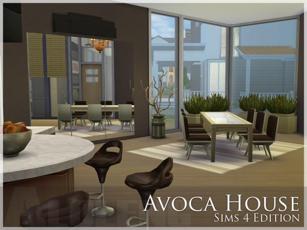 Sims 4 Avoca House by Aloleng at TSR