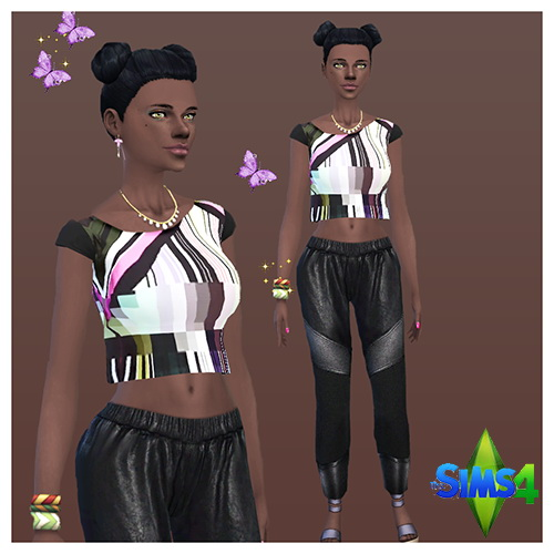 Sims 4 Nina EYME by Mich Utopia at Sims 4 Passions