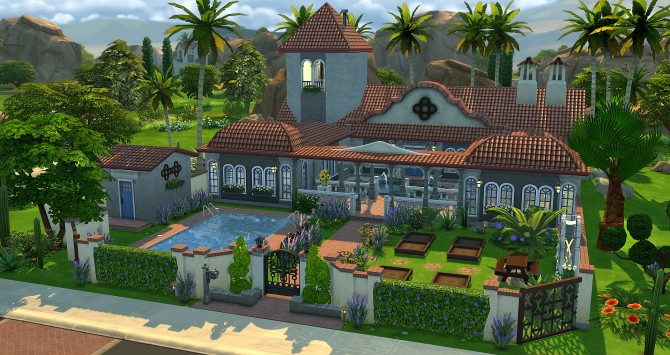 Sims 4 Havane house at Studio Sims Creation