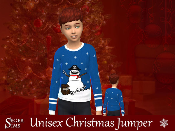 Christmas Jumpers by SegerSims at TSR image 940 Sims 4 Updates