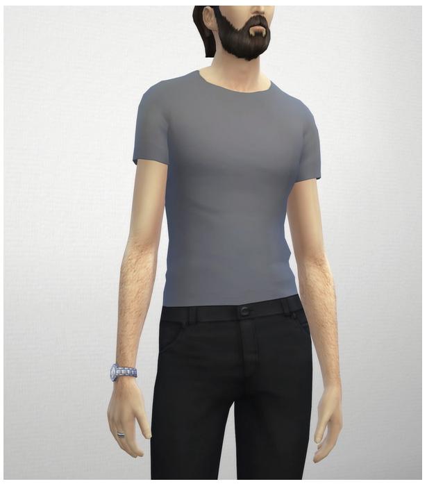 Sims 4 Basic t shirt M at Rusty Nail