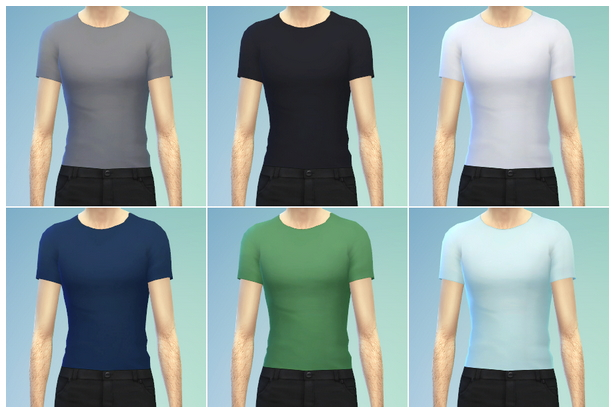 Basic t shirt M at Rusty Nail image 95211 Sims 4 Updates