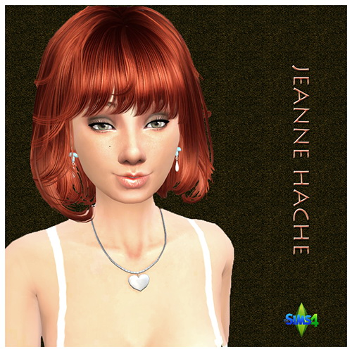 Sims 4 Jeanne HACHE by Mich Utopia at Sims 4 Passions
