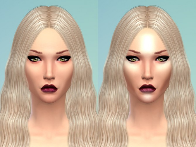 BLUSH and HIGHLIGHTER at RJ Sim image 961 Sims 4 Updates