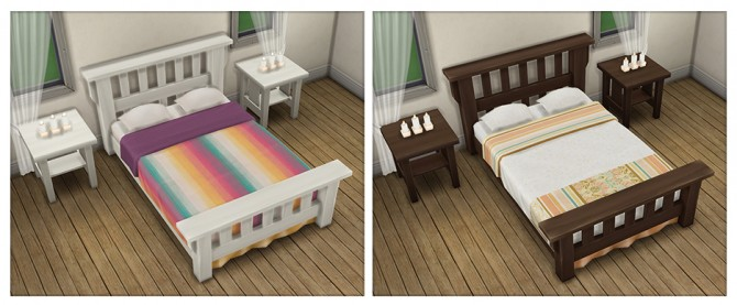 Single Mission Bed Recolors at Saudade Sims image 96111 Sims 4 Updates