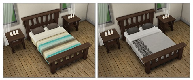 Single Mission Bed Recolors at Saudade Sims image 9712 Sims 4 Updates