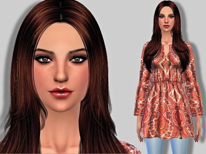 Sims 4 Elaina Parrish by Margie at Sims Addictions