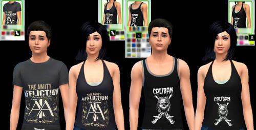 MERCH! t shirts at Aurimon image 10107 Sims 4 Updates