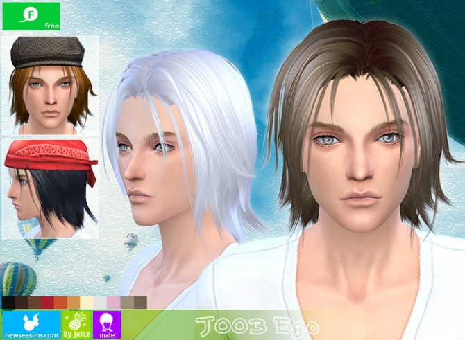 J003 Ego hair for males (free) at Newsea Sims 4 image 10112 Sims 4 Updates