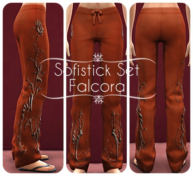 Sophistry Set (Pants) at Petka Falcora image 1012 Sims 4 Updates