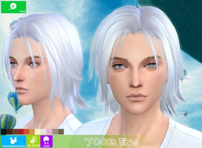 j003 ego hair for males  free  at newsea sims 4  u00bb sims 4 updates