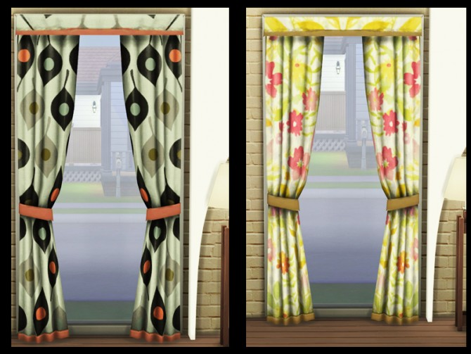 Curtain recolors at Simlife image 10214 Sims 4 Updates